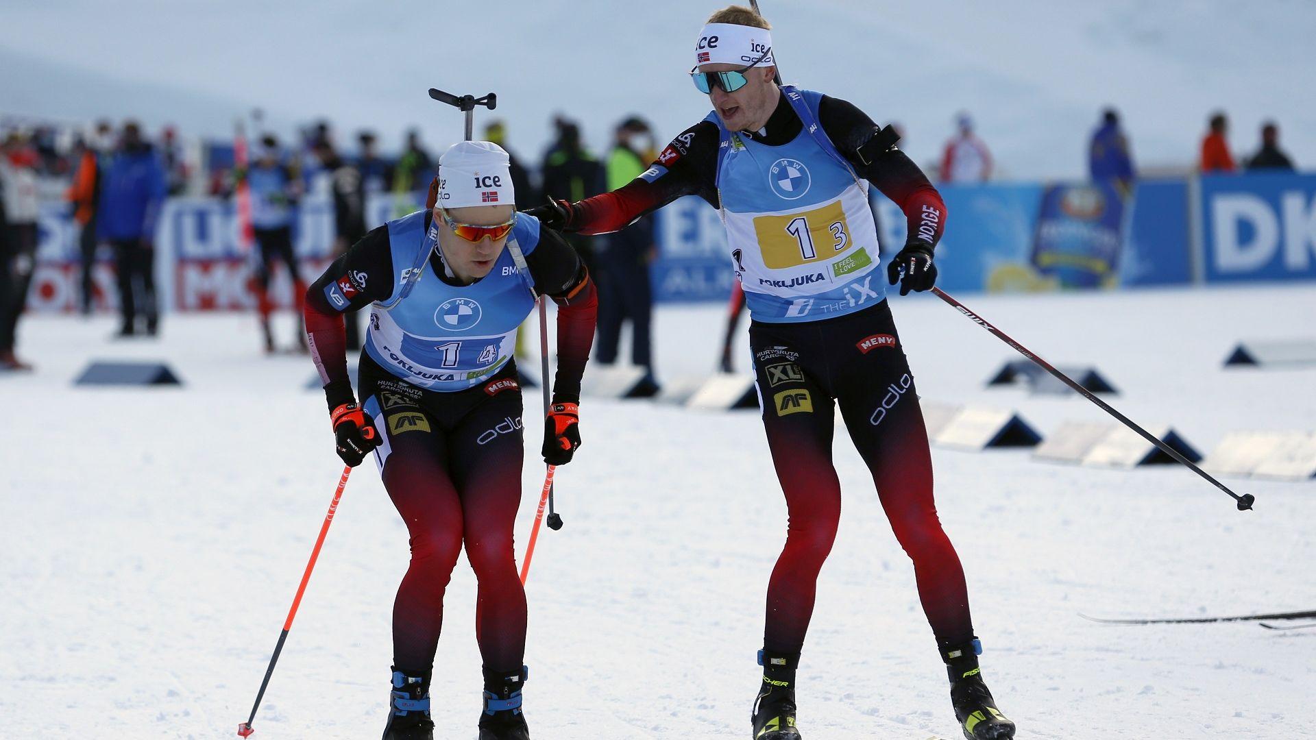 Норвегия триумфира и в мъжката щафета, България с 16-о място