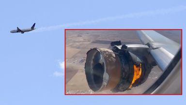Стотици оцеляха в аварирал самолет над Денвър, докато отломки падат от небето