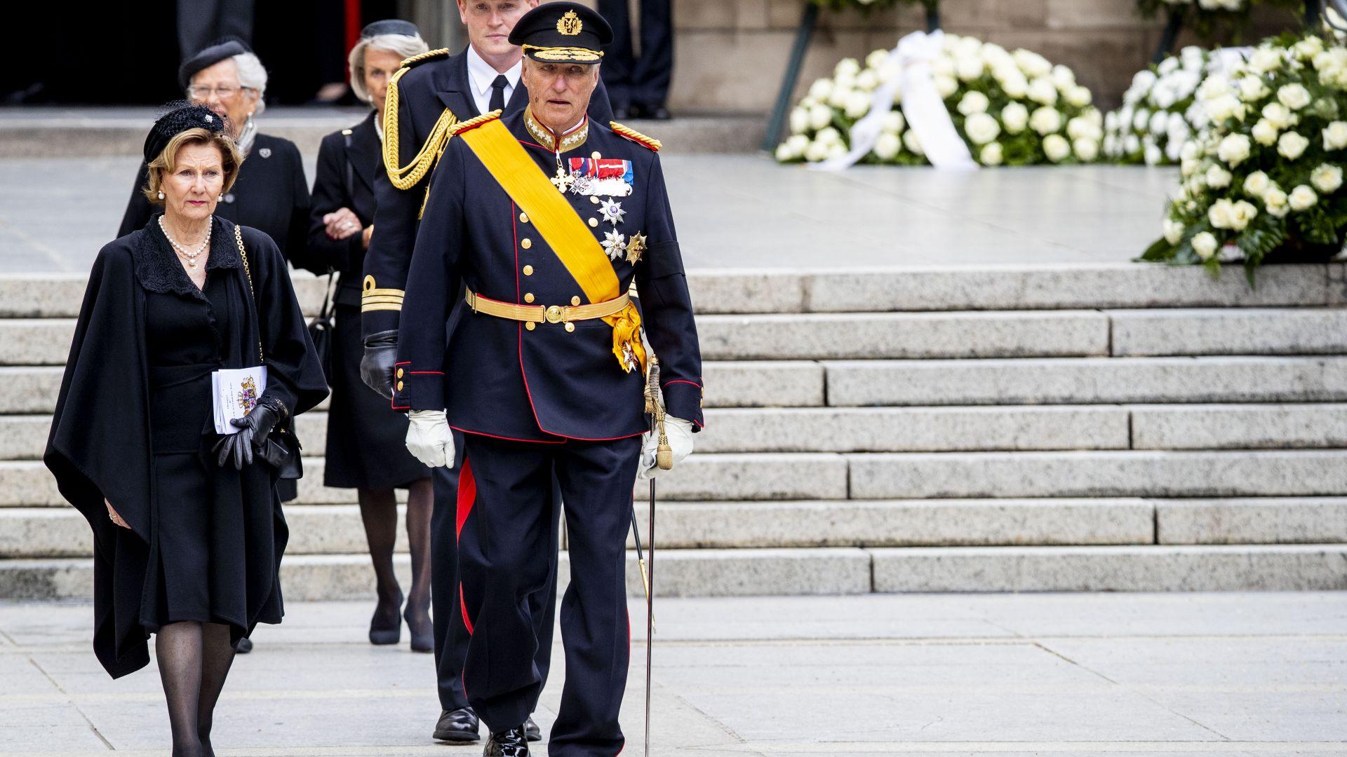 Кралят на Норвегия отбелязва в тесен кръг 84-я си рожден ден