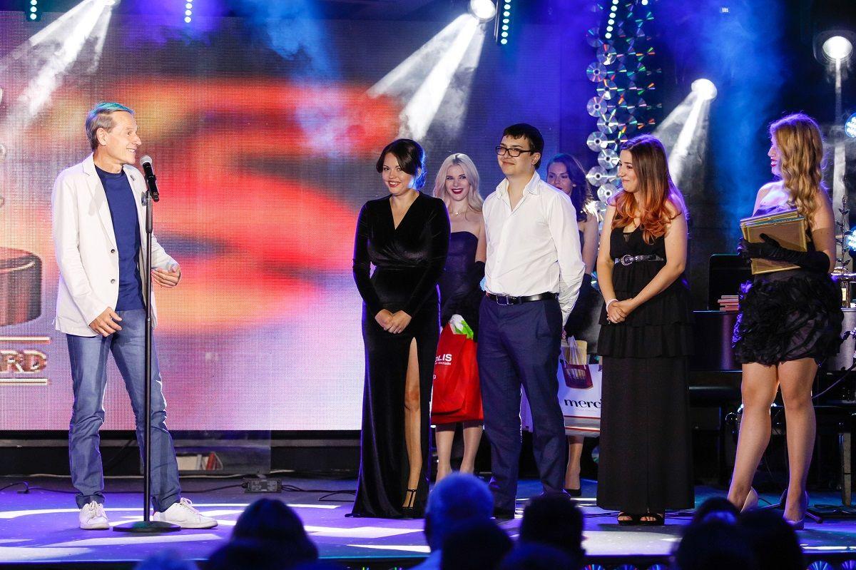 Иван Тонев и финалистите от Кино 355 за 2020 г.