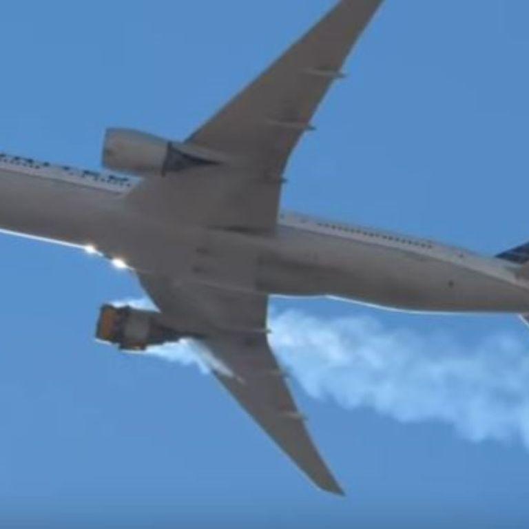 """128 заземени """"Боинг"""" 777: Счупени лопатки на вентилатора на повредения двигател"""