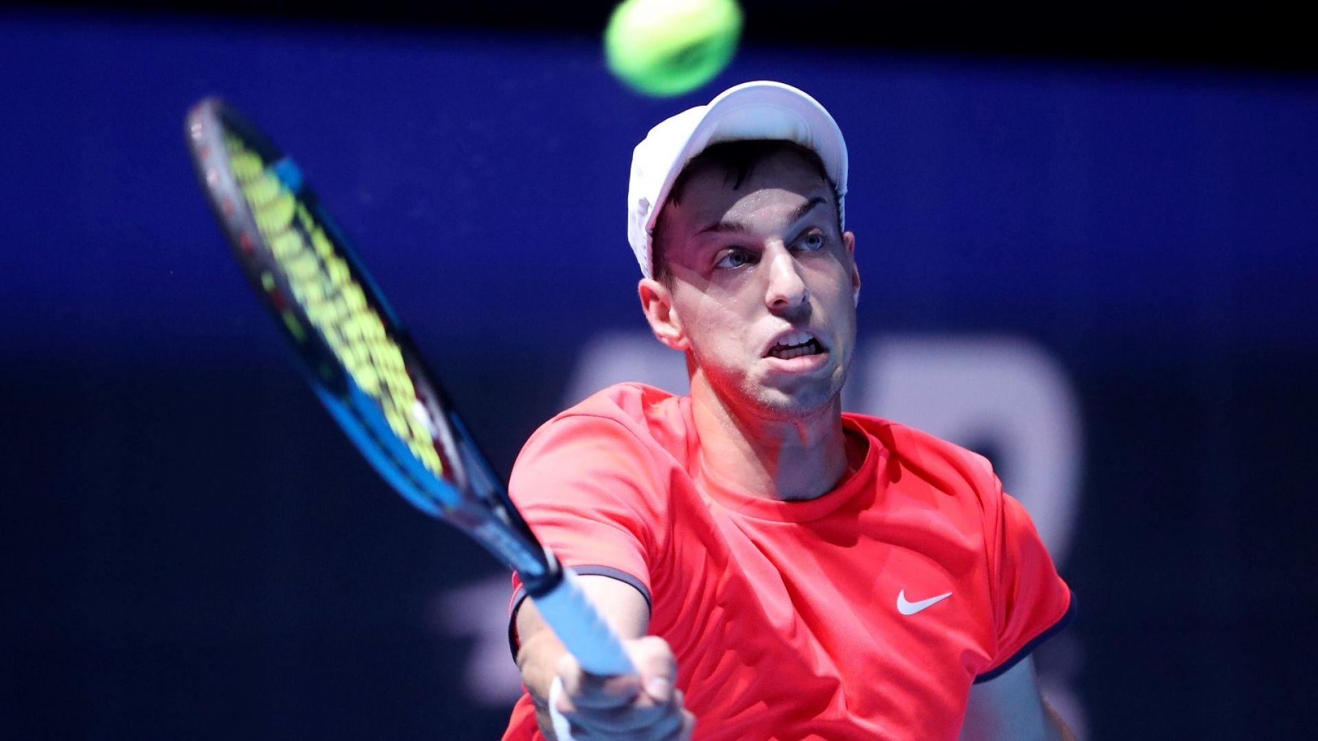 Нищо ново за Андреев, отново австралиец на пътя му в АТР турнир
