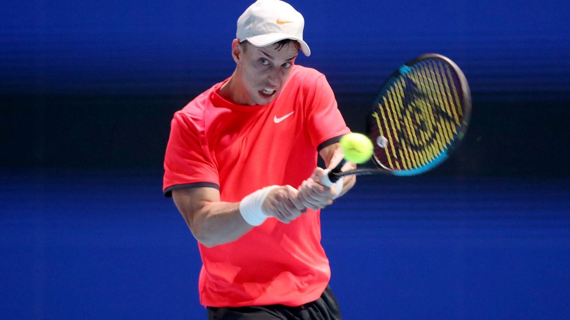 Отново австралиец спря Адриан Андреев на ATP турнир