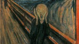 """Едвард Мунк сам е написал """"Може да бъде нарисувано само от луд"""" върху картината си """"Викът"""""""