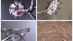 НАСА показа зрелищно видео от кацането на роувъра на Марс, пусна и уникален аудиозапис