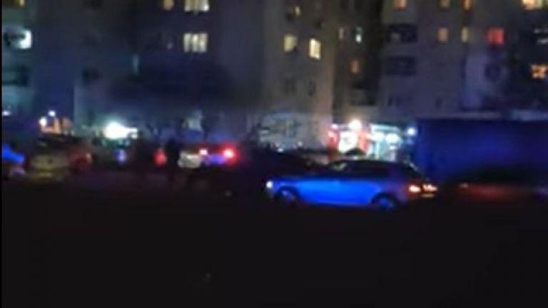 Пожар горя в столичния квартал