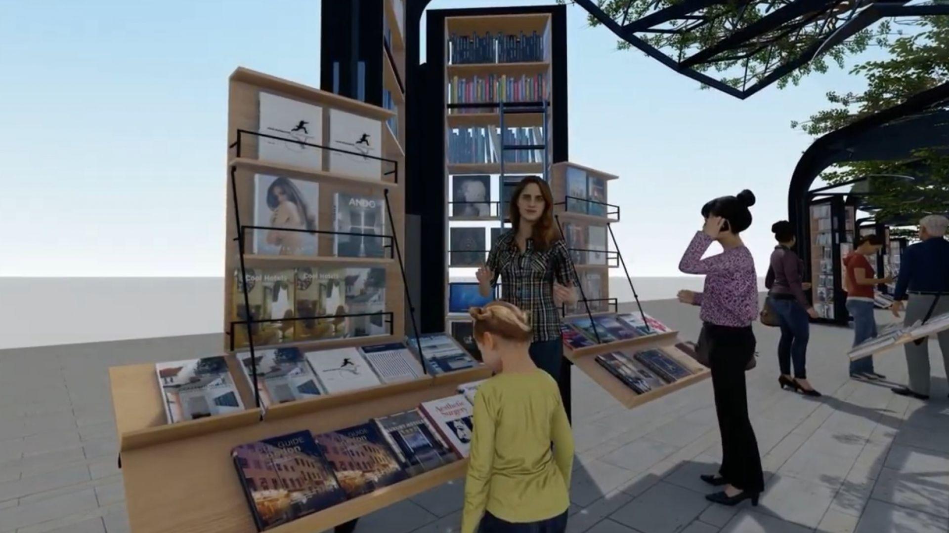"""Вижте как ще изглежда книжният пазар на """"Славейков"""" (видео)"""