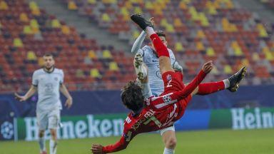 Букурещ този път не донесе щастие на Атлетико, Челси си тръгва с аванс към дома