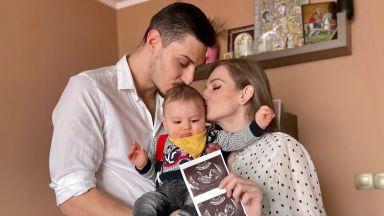 7 месеца след като роди, Нанси Карабойчева отново е бременна
