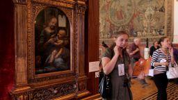 Учени разгадаха една от загадките на Леонардо да Винчи