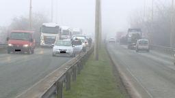 Серия от катастрофи в Русе заради мъгла и несъобразена скорост