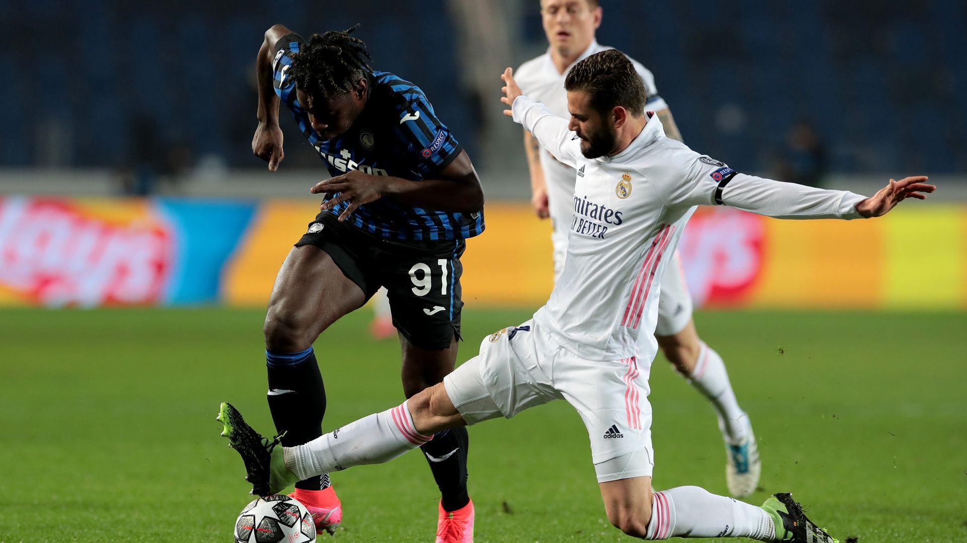 Реал се измъкна в Бергамо след рекордно бързо изгонване и късен гол