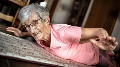 Баба стана фитнес звезда в Tik Tok