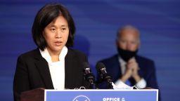 Вашингтон и Брюксел очакват с нетърпение Катрин Тай да оглави търговската политика при Байдън