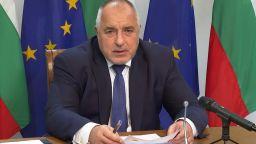 Борисов пред Евросъвета: Вярвам, че българинът е интелигентен, оставяме му свобода (видео)