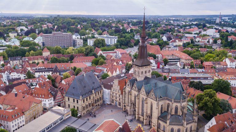 Жител на градче в северозападната част на Германия до такава