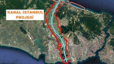 """Ердоган настоя, че ще реализира """"Канал Истанбул"""" """"на инат"""""""