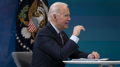 Байдън заяви, че САЩ никога няма да приемат анексията на Крим от Русия