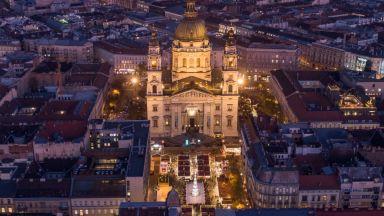 """Затвориха базиликата """"Сент Ищван"""" в Будапеща заради пандемията"""