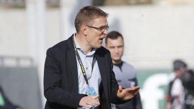 Дамбраускас: Сега имаме по-малко проблеми спрямо първия мач с ЦСКА