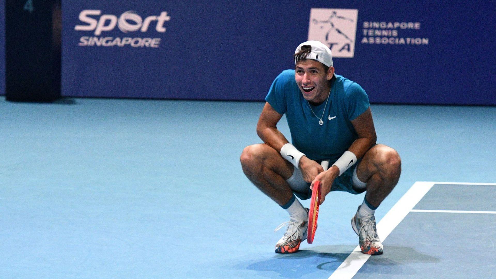 Австралиецът, който спря Адриан Андреев в Сингапур, спечели титлата