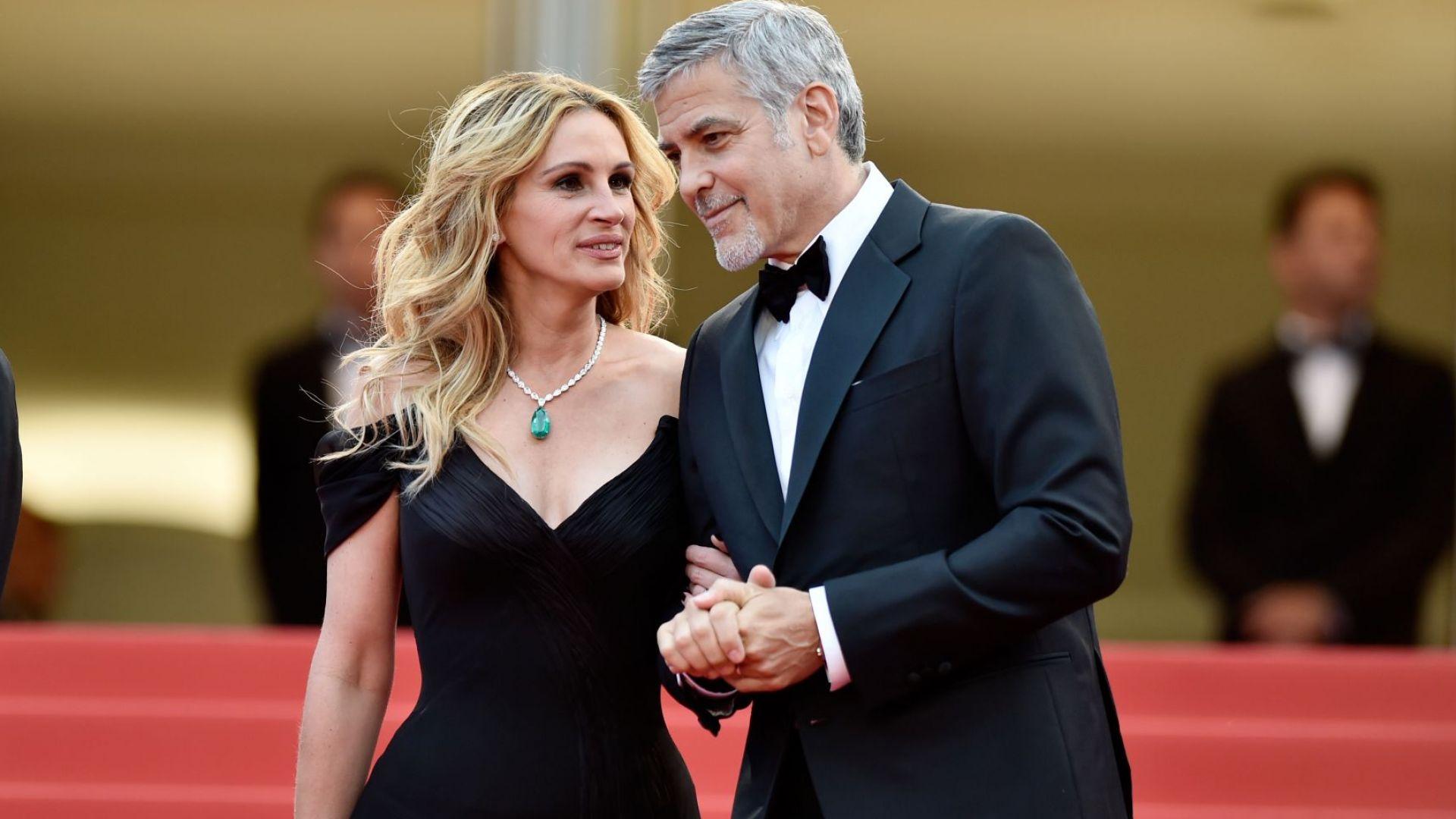"""Джордж Клуни и Джулия Робъртс отново заедно в """"Билет за рая"""""""