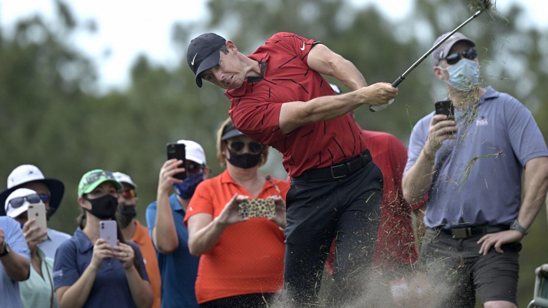 Суперзвездите в голфа подкрепиха Уудс по оригинален начин