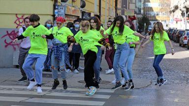 """НАТФИЗ се включи в предизвикателството """"Jerusalema Dance Challenge"""" (снимки)"""