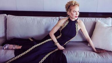 """Роклята на Никол Кидман за наградите """"Златен глобус"""" е бродирана 425 часа"""