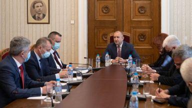 Президентът Радев излезе от карантина