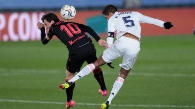 Бразилска резерва спаси Реал Мадрид в късна драма