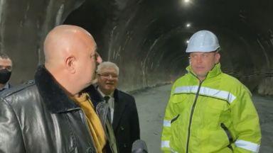 """Отварят за частично движение тунел """"Железница"""" през септември (видео)"""