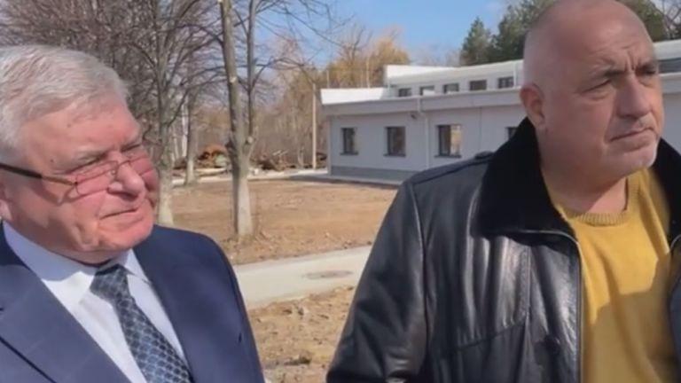 Премиерът Бойко Борисов и кметът на Перник Станислав Владимиров провериха
