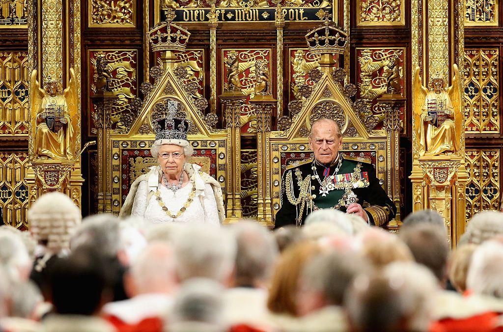 Кралица Елизабет Втора и принц Филип
