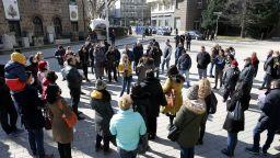 Протест на представители на туристическия сектор, браншът е разделен