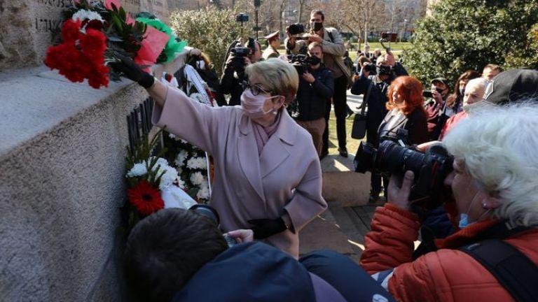 Руският посланик у нас Елеонора Митрофанова поздрави българите по случай