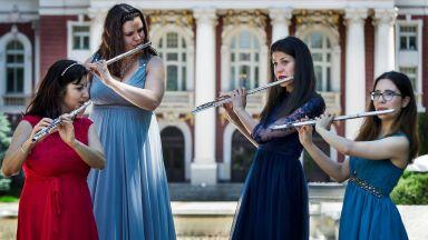 4 вдъхновяващи дами + 4 флейти = Флаутисимо