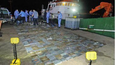 Арестуваха четирима български моряци с кокаин за $40 милиона (снимки)