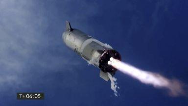 """Прототип на космическия кораб """"Старшип"""" пак се взриви след кацане"""