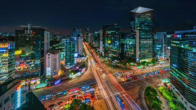 Южна Корея с първи икономически спад от 22 години