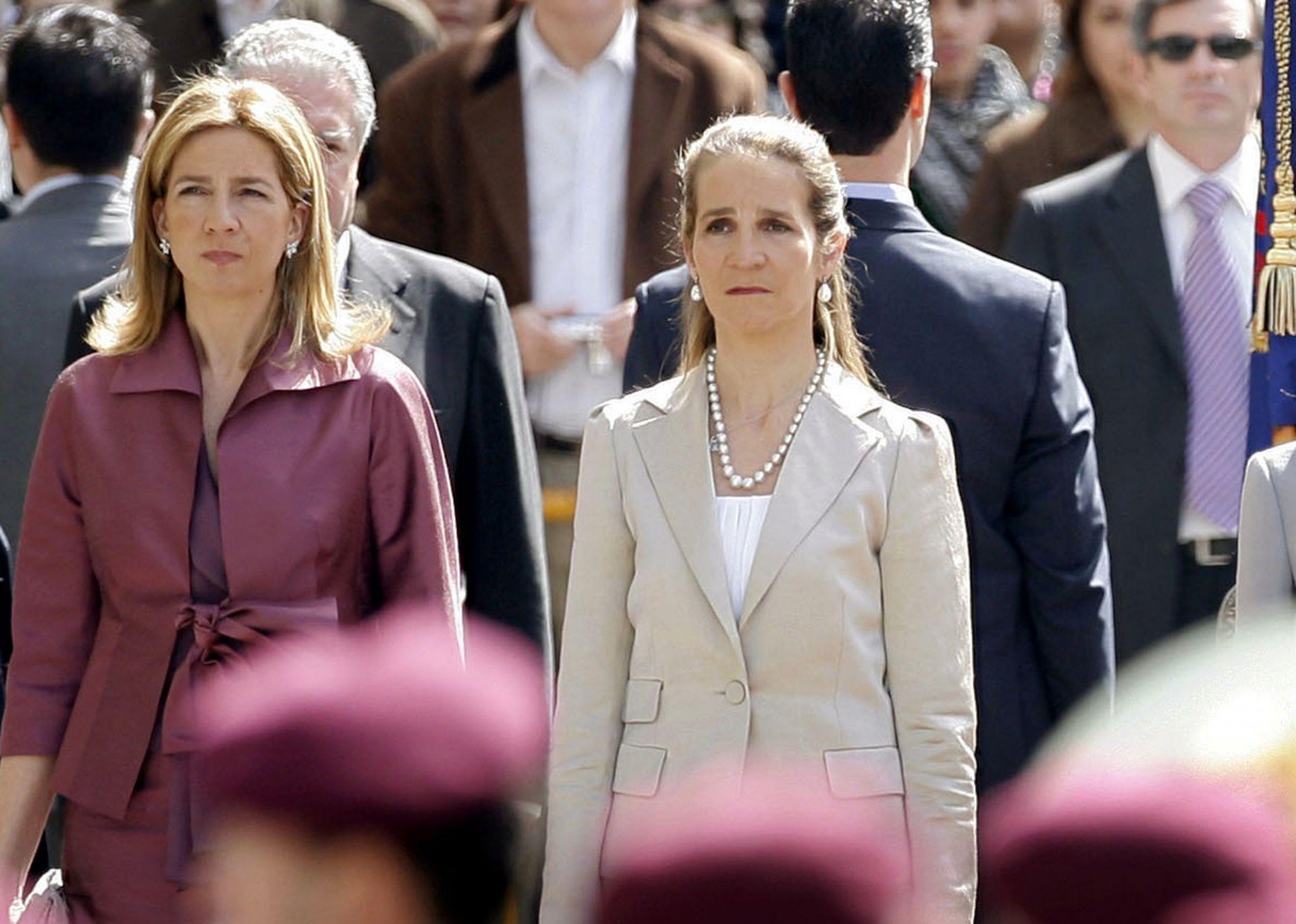 Сестрите на крал Фелипе VI - Елена и Кристина