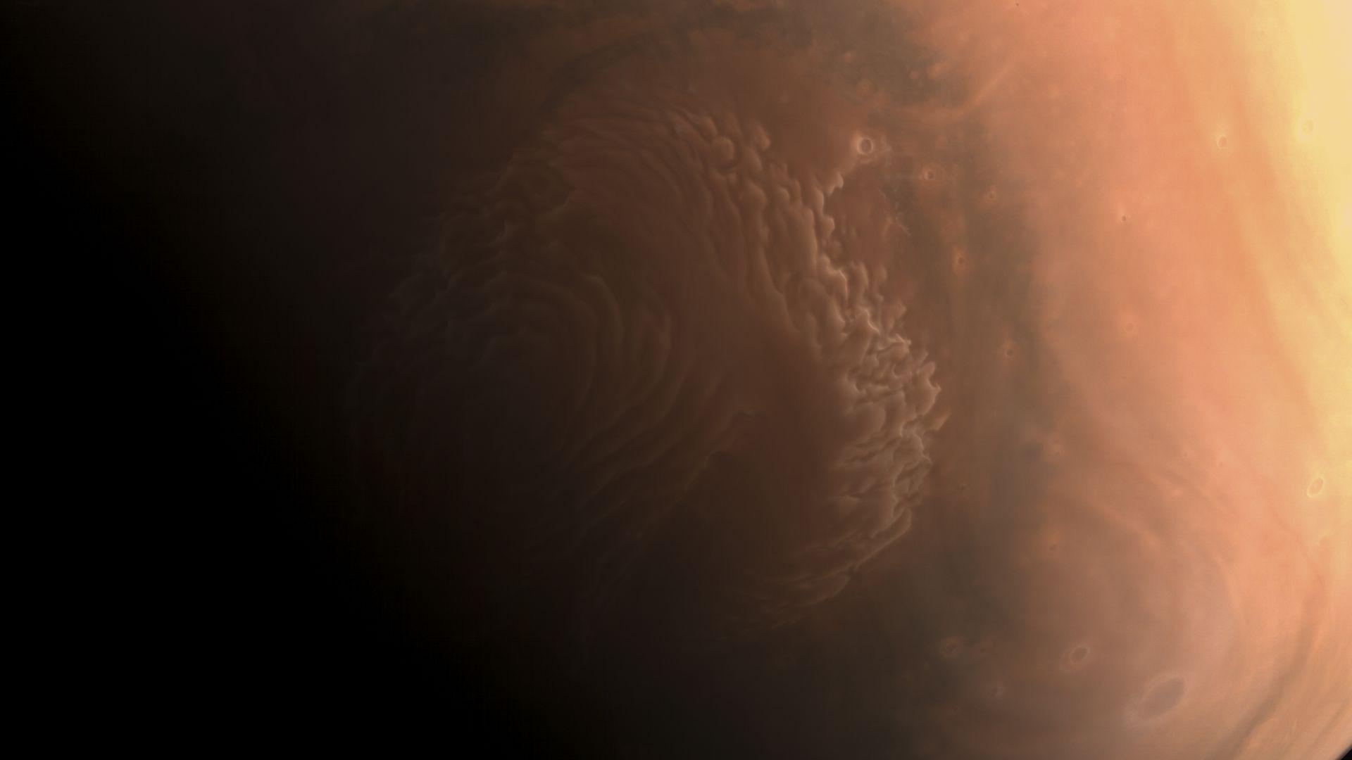 Китай изпрати снимки от орбитата на Марс