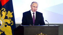 Путин поиска обединяване за международна взаимопомощ срещу вируса