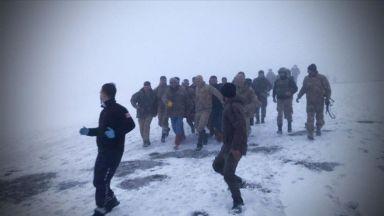 Военен хеликоптер се разби в Турция, девет души са загинали