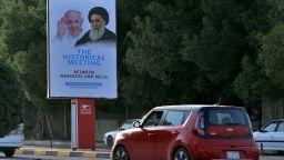 Посещение  на символични места по време на визитата на папата в Ирак