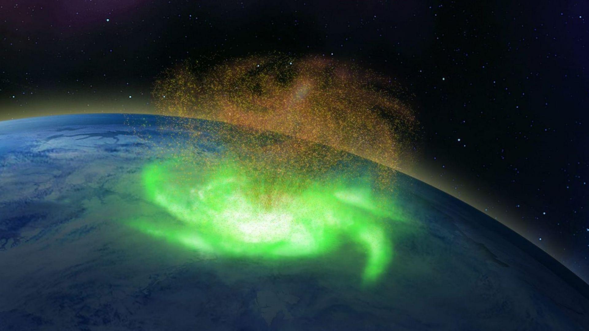 Астрономи откриха космически ураган в земната атмосфера