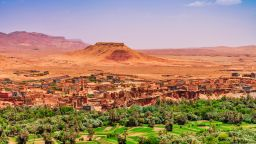 Бури и снеговалежи в Мароко