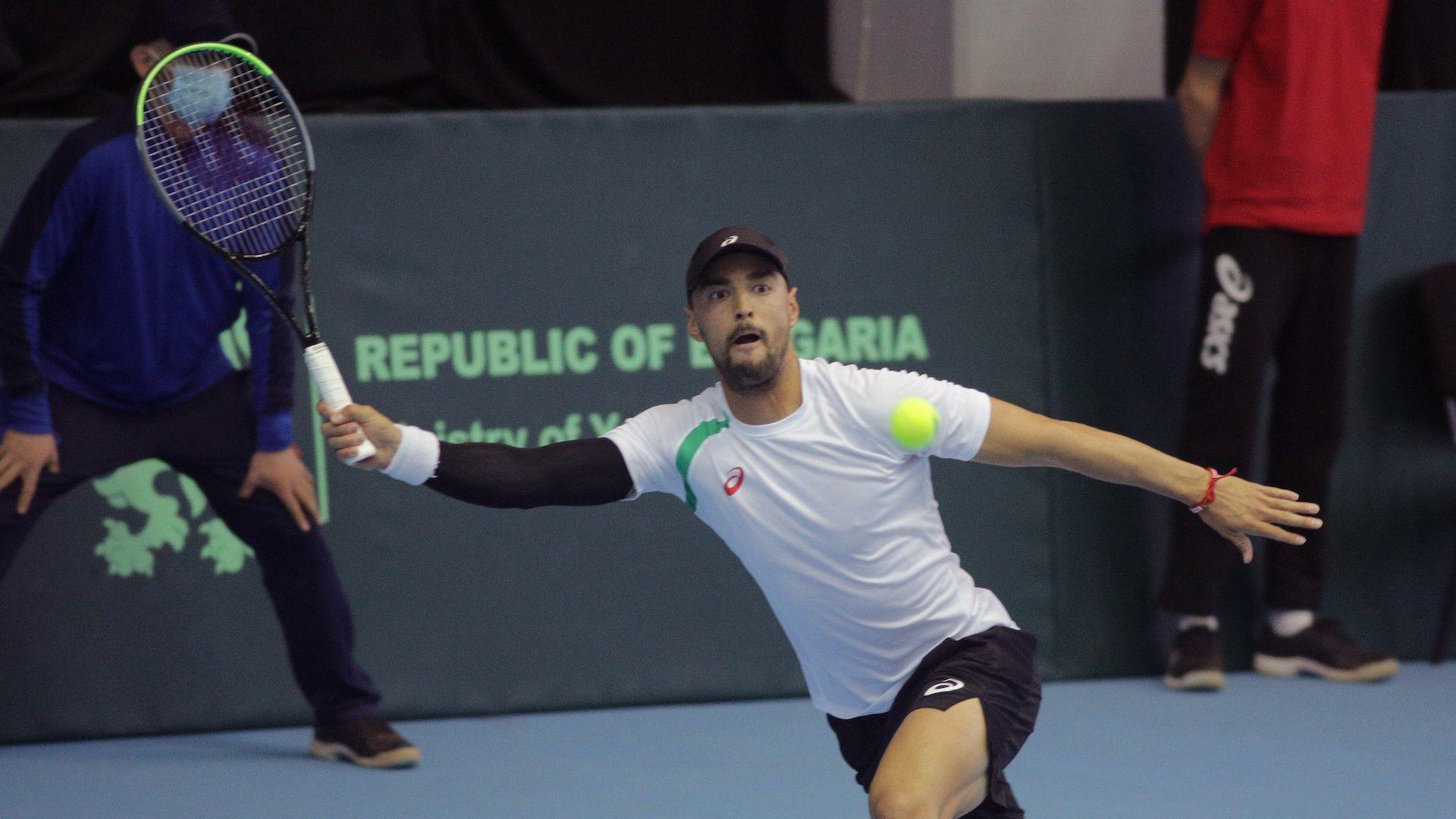 Жалко - контузия спря Кузманов на турнира в Португалия