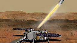НАСА направи важна стъпка към изстрелването на ракети от Марс