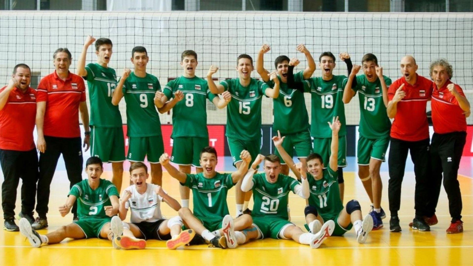 България се класира за още едно Европейско първенство във волейбола